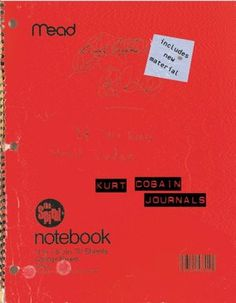 Kurt Cobain, 'Journals', is very interesting to take a look into his personal thoughts and lyrics.