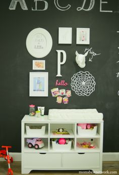 A fun whimsical nursery from Moms Best Network. #laylagrayce #nursery