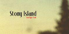Stony Island, typeface.