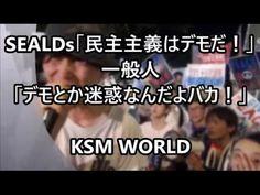 【KSM】SEALDs「民主主義はデモだ!」 → 一般人「デモとか迷惑なんだよバカ!」