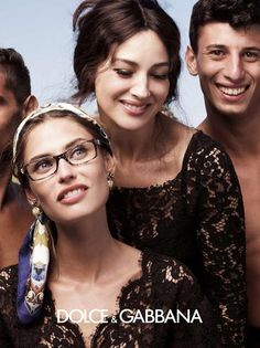Monica Bellucci for Dolce & Gabbana Eyewear Spring/Summer 2013 Campaign | FashionMention