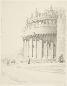 From the Harvard Art Museums' collections Cathedral, Avila Harvard Art Museum, Cathedral, Journal, Drawings, Outdoor, Classic Architecture, Outdoors, Cathedrals, Sketches