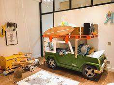 Когда креативность родителей встречается с возможностями нашей мастерской, получаются такие чудесные детские комнаты!