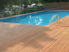 Wooden decking ANGELIM AMARGOSO by Déco - The Italian Decking Company
