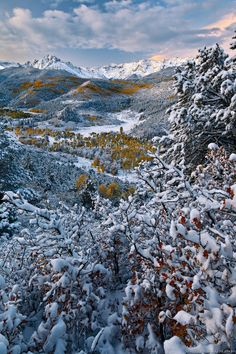Snowy San Juan Sunrise, Colorado; photo by David Kingham