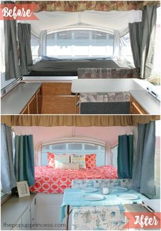 Shannon & Jeff's Pop Up Camper Makeover - The Pop Up Princess
