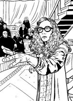 coloring page Harry Potter and the Order of the Phoenix