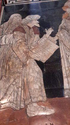 Duomo di Siena - Ermete Trismegisto - Giovanni di Stefano - 1488