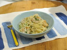 A lighter twist on a typically heavy dish:  Cauliflower Alfredo Sauce recipe from Katie Lee