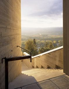 P :: STAIRS Mission Hill Family Estate Winery, Kelowna BC, Olson Kundig Architect