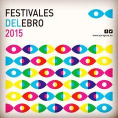 Festivales del ebro #design #diseño #graphicdesign #zaragoza #iguacen