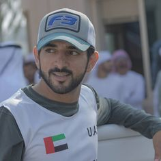 Crown Prince Hamdan bin Mohammed bin Rashid Al Maktoum of Dubai United Arab Emirates Dubai, Prince Crown, Sweatpants Outfit, Country Boys, Beautiful Men, Baseball Hats, Husband, California, Celebrities
