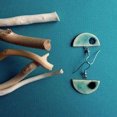 Keramické náušnice CIRCULOS (65) Ceramic earrings CIRCULOS (65)