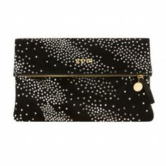 exclusive personalized foldover clutch