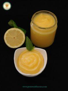 Crema de limón casera. Home made lemon curd.