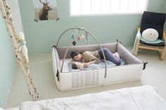 CreamHaus Bumper Mat - Great solution for co-sleeping in the same room as parents
