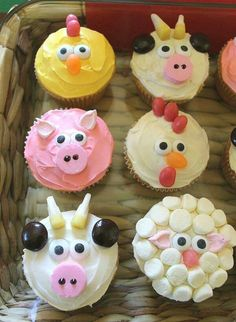 Cool animal cupcakes!