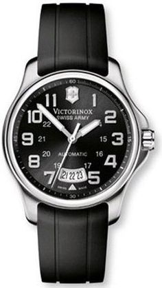 victorinox swiss army men s 241547 2 leather officers automatic victorinox swiss army classic officer s men s automatic watch 241369 watches amazon com
