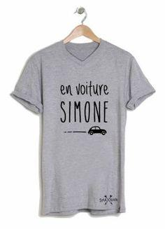 "Tee shirt ""En voiture Simone"""
