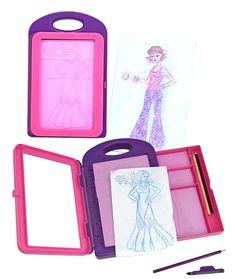 Amazon.com: Melissa & Doug Fashion Design Activity Kit: Toys & Games
