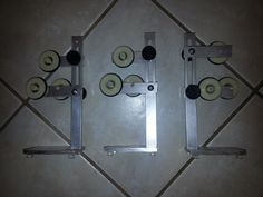 Rod Building Ros Supports for Wrapper Lathe Very Nice 3 Supports   eBay