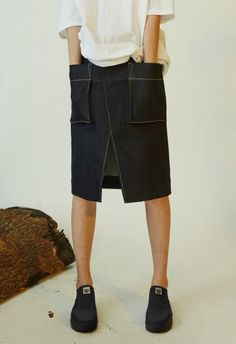 clothes and styles Skirt Pants, Denim Skirt, Dress Skirt, Cool Outfits, Summer Outfits, Looks Style, Women Wear, Fashion Design, Clothes