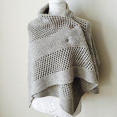 CORNER BROOK shawl knitting pattern by Allison O'Mahony {kniterations.ca}