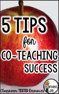5 Great Tips for Co-Teaching Success