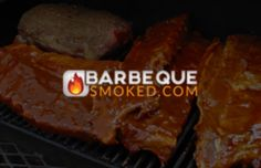 How to Smoke Ribs in an Electric Smoker & Barbeque Smoked