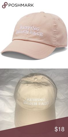 54aed9148 Shop Women's Victoria's Secret Tan size OS Hats at a discounted price at  Poshmark. Description: Adjustable One size fits all