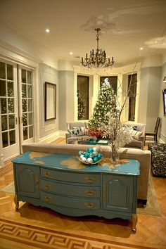 Every room should have at least one painted piece, big or small, of furniture to add character.