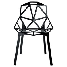 Chair One - Konstantin Grcic My dream chair! I just love it.