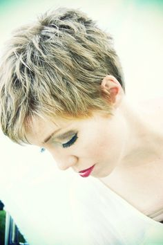 Today we have the most stylish 86 Cute Short Pixie Haircuts. We claim that you have never seen such elegant and eye-catching short hairstyles before. Pixie haircut, of course, offers a lot of options for the hair of the ladies'… Continue Reading → Short Hairstyles 2015, Short Hairstyles For Thick Hair, Short Hair Styles Easy, Hair Styles 2014, Short Pixie Haircuts, Short Hair With Layers, Short Hair Cuts For Women, Pixie Hairstyles, Curly Hair Styles