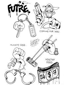 Sketch Tattoo Design, Tattoo Sketches, Tattoo Drawings, Mini Tattoos, Rose Tattoos, Small Tattoos, Ghetto Tattoos, Desenho New School, Gangsta Tattoos
