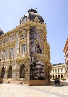 JR street art in Spain