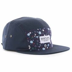 The Quiet Life Liberty 5-Panel Cap - Navy-Blue at Urban Industry (£34.00) - Svpply