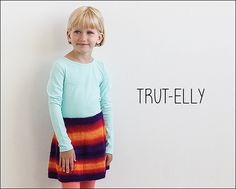 Trut-Elly from Knits for Little Scamps 2 - an 11 pattern ebook of kids knits / På dansk i bogen Strik til Banditter