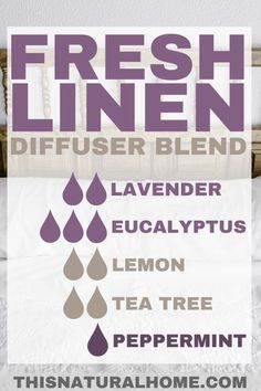Diffuser Blends That'll Make Your House Smell Amazing # Essential oils have so many amazing benefits, but sometimes we just want to use them because they smell so good. These diffuser blends will make your house smell simply amazing! Essential Oil Diffuser Blends, Doterra Essential Oils, Young Living Essential Oils, Essential Oils Cleaning, Doterra Diffuser, Oils For Diffuser, Uses For Essential Oils, Lavender Essential Oil Benefits, Relaxing Essential Oil Blends
