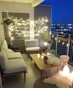 Terrace Decor, Small Balcony Decor, Small Balcony Design, Apartment Balcony Decorating, Interior Decorating, Interior Design, Home Furniture Online, Discount Furniture, Balkon Design