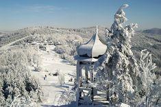 Ski areál Pustevny - sjezdovky, sníh, počasí, webkamera, info, České-