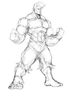 Hulk by Sketchydeez