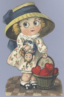 Vintage Valentine Museum: CHLOE PRESTON - Master of Intricate Honeycombed Cards