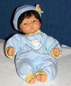 Corolle Bebe-Baby Doll 1996 Original Outfit New Old Stock Asian Store Sample