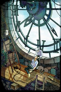 Lord save me, I can just imagine Harry and Draco meeting up secretly in the clock tower.... the cute!!! *dies* my ship!!!