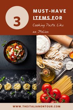 3 tools you need in your kitchen to cook pasta like an Italian plus a step-by-step guide to cooking pasta like an Italian Cooking Spaghetti, Cooking Pasta, Italian Main Courses, Pasta Types, Italian Pasta Recipes, Homemade Sauce, Learn To Cook, Foodie Travel, How To Cook Pasta