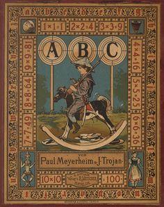 Paul Meyerheim, illustration ABC book, 1883