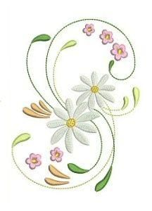 Daisies in the Wind - Allsorts Embroidery | OregonPatchWorks