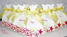 Dress cards:  Will you be my bridesmaid? Maid of Honor? Flower girl? Sea Life design by SDezigns