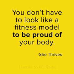 Harder to Kill Radio 014: How to Love Your Body with She Thrives