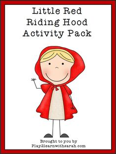 Little Red Riding Hood Printable Pack